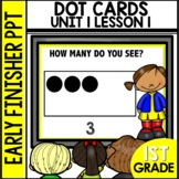 Early Finishers Activities | Dot Cards | How Many |Module