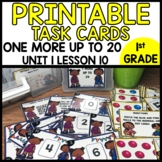 MATH TASK CARDS [matching and one more games]