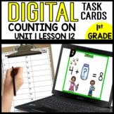 Counting on the Find the Missing Addend DIGITAL TASK CARDS