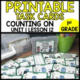 MATH TASK CARDS [missing addend]