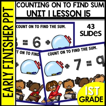 Early Finishers Activities | Counting On | Module 1 lesson 15