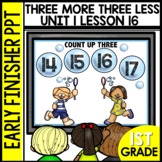 Early Finishers Activities | Three More | Three Less | Mod