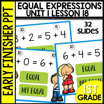 Early Finishers Activities | Equal Expressions | Module 1 lesson 18