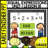 Early Finishers Activities | Equal Expressions | Module 1
