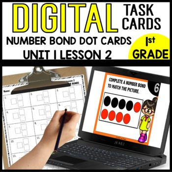 Write the number bond to match the picture [Module 1 lesson 2 DIG TASK CARDS]