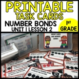 MATH TASK CARDS [number bond to match cards]