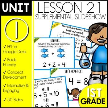 Module 1 lesson 21 | Doubles | Doubles Plus 1
