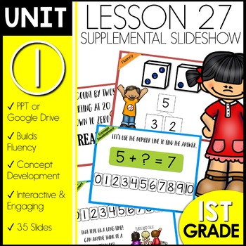 Module 1 lesson 27 | Counting by 2s | Count On or Count Back