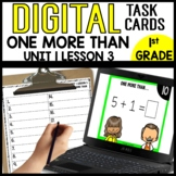 DIGITAL TASK CARDS MATH [one more than]