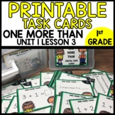 MATH TASK CARDS [one more than]