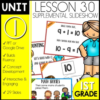 Module 1 lesson 30   Counting by Tens   Change Addition Sentences to Subtraction