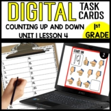 MATH DIGITAL TASK CARDS [counting up and down from a given