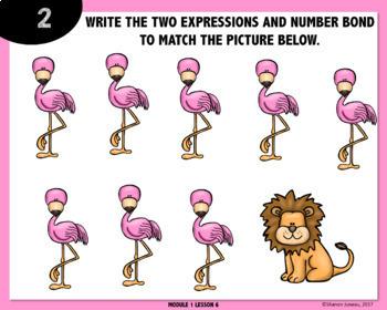 Expressions & Number Bonds DIGITAL TASK CARDS
