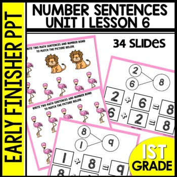 Early Finishers Activities | Number Bonds | Module 1 lesson 6