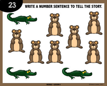 MATH DIGITAL TASK CARDS [number sentences]