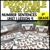 TASK CARDS MATH [number sentence to match picture]