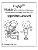 First Grade Eureka Math (Engage NY) Module 2 Application Journal