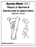 Eureka Math (Engage NY) Module 2 Application Problems Journal Grade 2