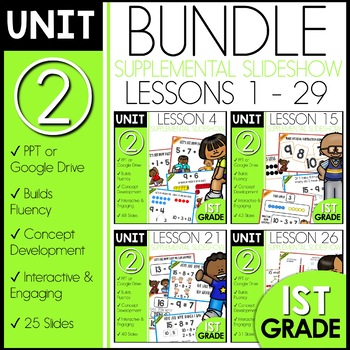 Module 2 Math | 1st Grade Bundle | DAILY MATH