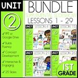 Module 2 Math   1st Grade Bundle   DAILY MATH   Distance Learning