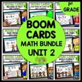 BOOM CARDS Distance Learning Module 2 MATH BUNDLE   Digita