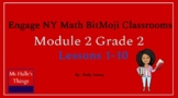 Module 2 Engage NY Math Bitmoji Room (Grade 2)