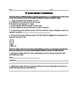 Module 2 FSA Math Assessment