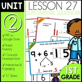 Module 2 Lesson 27   Tens and Ones   Make a Ten   DAILY MATH