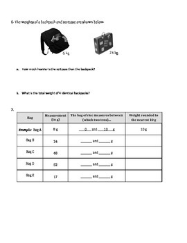MATH Module 2 Topic A, B, C Quiz, Grade 3