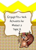 Engage NY First Grade Module 2 Topic A activities and centers