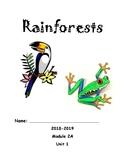 Module 2A Unit 1: Rainforests