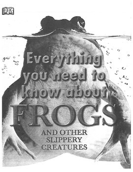 Module 2a Unit 2 Frogs - Everything You Need To Know About FROGS