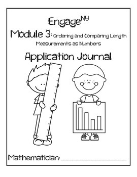 First Grade Module 3 Application Problem Journal (Engage NY Grade 1)