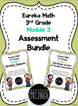 Module 3 Assessment Bundle 3rd Grade