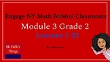 Module 3 Engage NY Math Bitmoji Room (Grade 2)