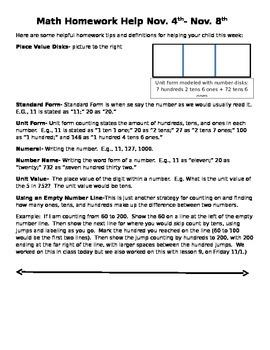 Module 3 Homework Helper Lessons 10-13