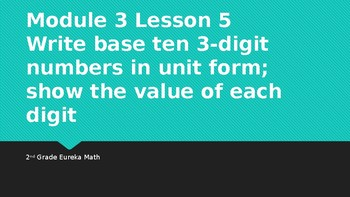 Module 3 Lesson 5 Eureka Math Grade 2