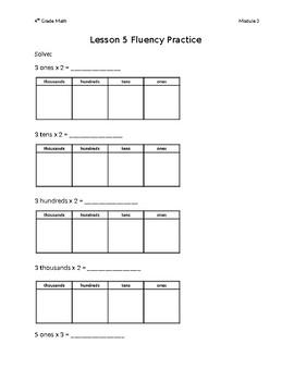 Module 3 Lessons 1-13