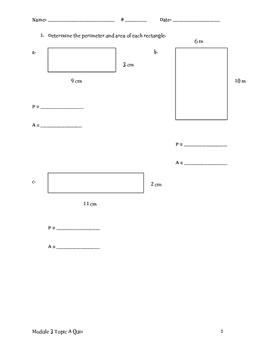 Module 3 Topic A Quiz