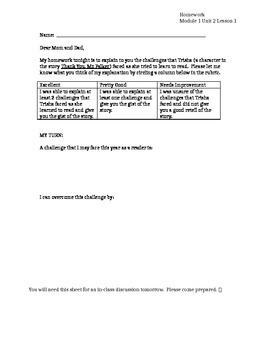 Module 3.1 Unit 2 Lesson 1 Homework