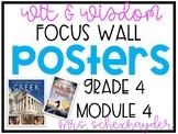 Wit & Wisdom 4th Grade, Module 4 Focus Wall