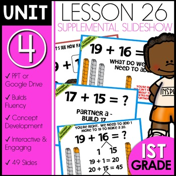 Module 4 Lesson 26 [adding teen numbers]