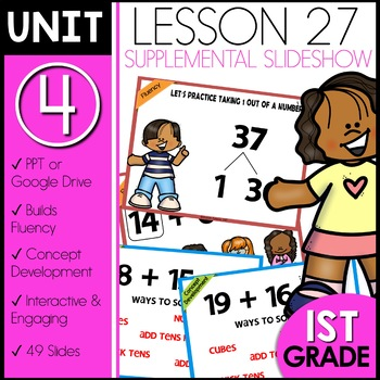 Module 4 Lesson 27 [adding two-digit numbers]