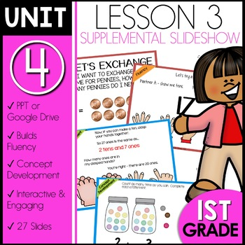 Module 4 Lesson 3   Tens and Ones using Pennies and Dimes