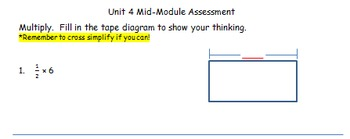 EngageNY Module 4 Mid-Module Assessment Modified