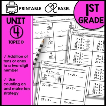 Math Worksheets 1st Grade [tens and ones]