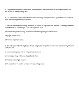 Module 42 The Foreign Exchange Market AP Macroeconomics