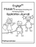 First Grade Eureka Math (Engage NY) Module 5 Application Journal