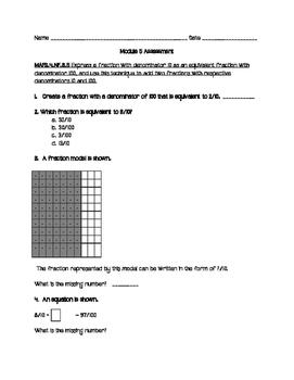 Module 5 FSA Math Assessment