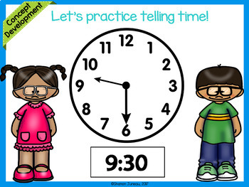 Module 5 Lesson 11 | Time to the Hour and Half Hour | Daily Math